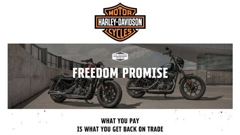 Harley-Davidson - The Freedom Promise